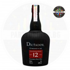 Ром Dictador 12 Years Old 700ml 40%