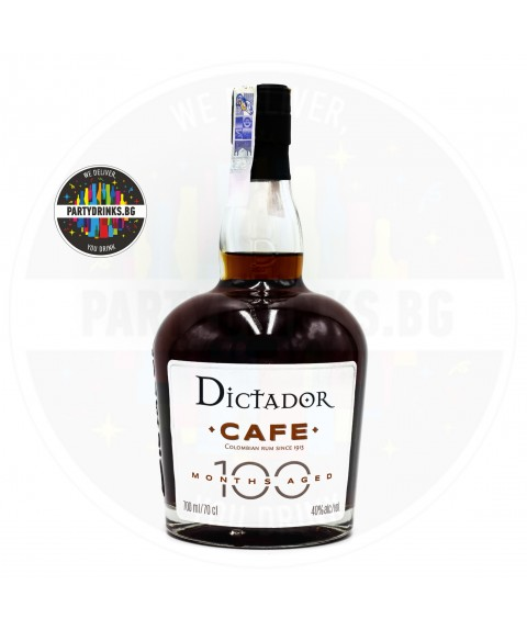 Ром Dictador 100 Months Cafe 700ml 40%