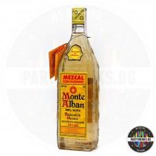 Текила Monte Alban Mezkal 700ml 40% с червей