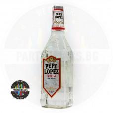 Текила Pepe Lopez Silver 700ml 40%