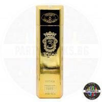 Водка 3 Kilos gold 999.9 1.0L 40%