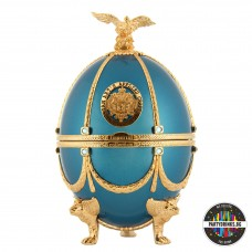 Водка Imperial Collection Faberge Turquoiase Metalized 700ml