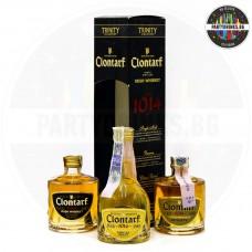 Ирландско уиски Clontarf 1014 Trinity Collection 3 x 50ml 40%