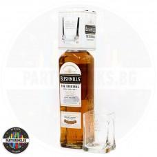 Ирландско уиски Bushmills 1.0L 40% с чаша
