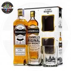 Ирландско уиски Bushmills Original 700ml 40% с 2 чаши