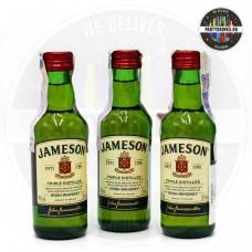 Ирландско уиски Jameson 50ml 40% 3 броя