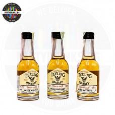 Ирландско уиски Teeling Whiskey Single Grain 50ml 46% 3 броя
