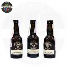 Ирландско уиски Teeling Whiskey Single Malt 50ml 46% 3 броя