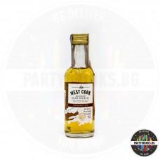 Ирландско уиски West Cork Bourbon Cask 50ml 40%