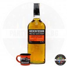 Уиски Auchentoshan American Oak Malt 700ml 40% с подарък чаша