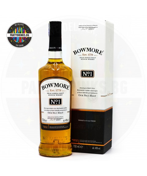 Уиски Bowmore № 1 Single Malt 700ml 40%