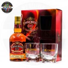 Уиски Chivas Regal Extra Sherry Cask 700ml 40% с 2 чаши