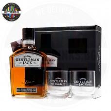Уиски Jack Daniel's Gentleman Jack 700ml 40% с 2 чаши