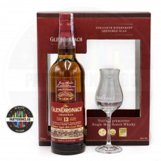 Уиски Glendronach 12 Years Old 700ml 43% с чаша