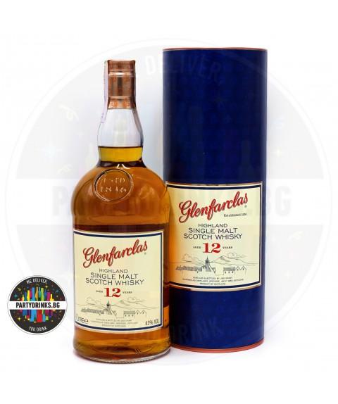 Уиски Glenfarclas 12 Years Old 1.0L 43%