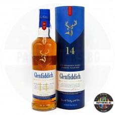 Уиски Glenfiddich 14 Years Old Bourbon Cask 700ml 43%