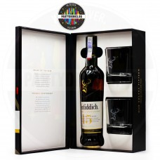 Уиски Glenfiddich 15 Years Old 700ml 40% 2 чаши