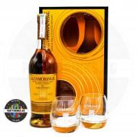 Уиски Glenmorangie Highland Single Malt The Original 10 YO 700ml 40% с 2 чаши
