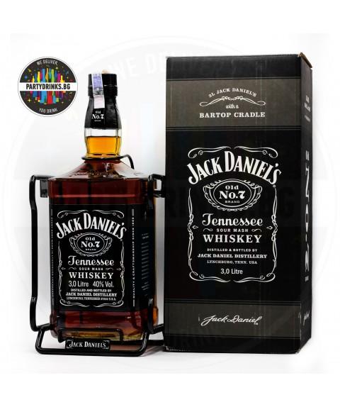 Уиски Jack Daniel's с люлка №7 3.0L 40%