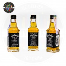 Уиски Jack Daniel's №7 50ml 40% 3 броя
