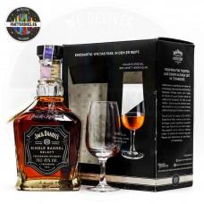 Уиски Jack Daniel's Single Barrel 700ml 45% с чаша