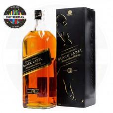Уиски Johnnie Walker Black Label 12 Years Old 1.75L 40%