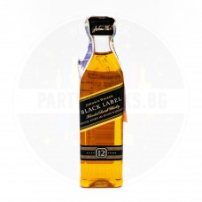 Уиски Johnnie Walker Black Label 12 Years Old 50ml 40%