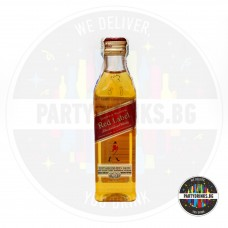 Уиски Johnnie Walker Red Label 50ml 40%