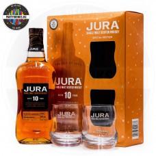 Уиски Jura 10 Years Old 700ml 40% с 2 чаши