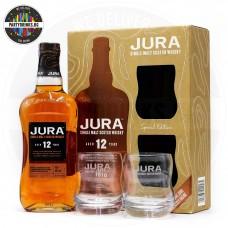 Уиски Jura 12 Years Old 700ml 40% с 2 чаши