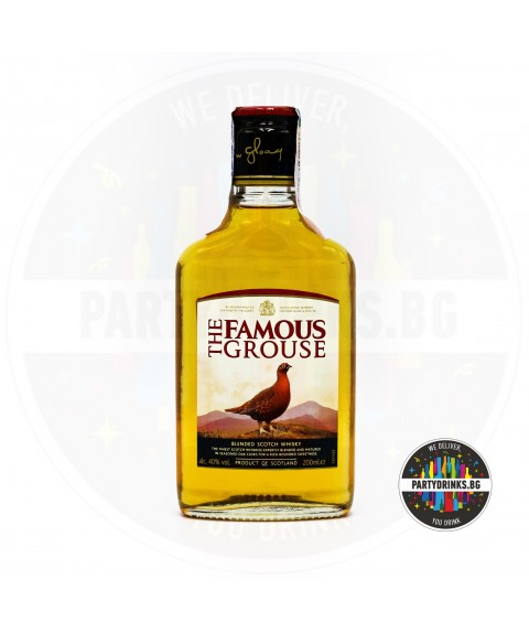 Уиски The Famous Grouse 200ml 40%