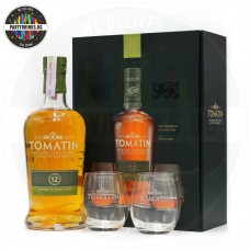 Уиски Tomatin 12 Years Old 700ml 43% с 2 чаши