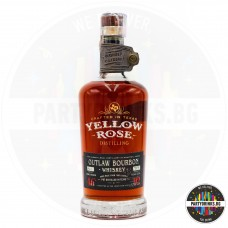 Бъбрън Yellow Rose Outlaw 700ml 46%