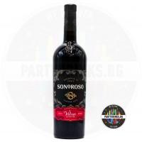 Червено вино Sonoroso Velvet 750ml 13%