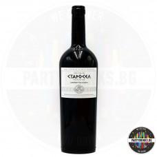 Червено вино Старосел Cabernet Sauvignon 750ml 14.5%