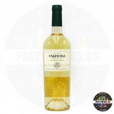 Бяло вино Старосел Chardonnay & Muscat 750ml 11.5%