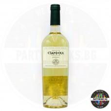 Бяло вино Старосел Chardonnay 750ml 14%