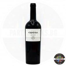 Червено вино Старосел Mavrud 750ml 14%