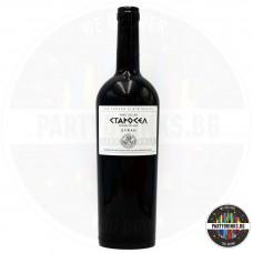 Червено вино Старосел Syrah 750ml 14.5%