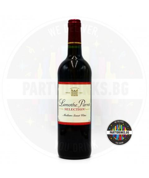 Червено вино Lamothe Parrot Rouge Selection 750ml 11%