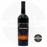 Червено вино Sonoroso Dark 750ml 13%