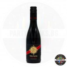 Червено вино Terra Tangra TT Malbec Black Label 375ml 14%