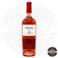 Вино розе Старосел 750ml 13.6%