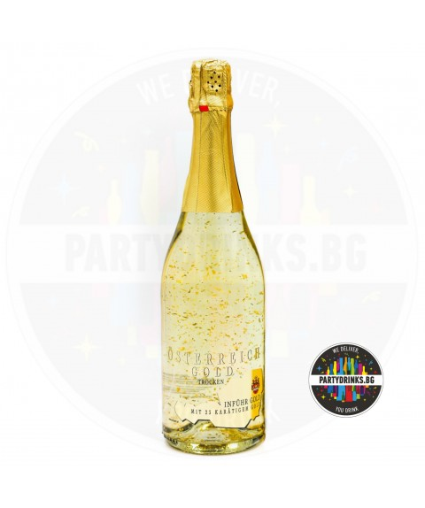 Златно шампанско Österreich Gold 750ml 9.5%