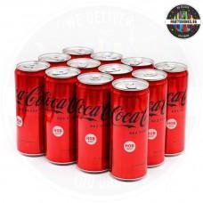 Безалкохолно Кока кола Zero стек 12 броя x 330ml