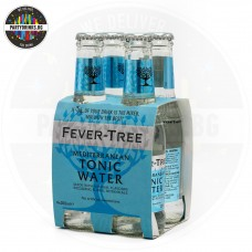 Безалкохолна напитка Тоник Fever-Tree Mediterranean 4 броя x 200ml