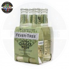 Безалкохолна напитка Fever-Tree Premium Ginger Beer 4 броя x 200ml