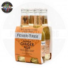 Безалкохолна напитка Fever-Tree Premium Ginger ale 4 броя x 200ml