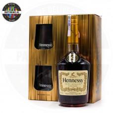 Коняк Hennessy VS 700ml 40% с 2 чаши
