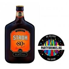 Rum Stroh 80% 0.500L 80%